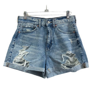 American Eagle | Mom Shorts High Rise Distressed 6